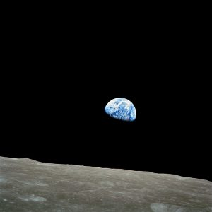Earthrise: Apollo 8, 24 December 1968. I was eight when I heard the radio broadcast, and nine when I first saw the Whole Earth Catalog. Thanks, NASA - this has all been your fault Click on the picture to enlargeEarthrise: Apollo 8, 24 December 1968. I was eight when I heard the radio broadcast, and nine when I first saw the Whole Earth Catalog. Thanks, NASA - this has all been your fault Click on the picture to enlarge