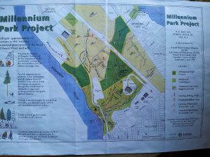 Millennium Park proposal_map
