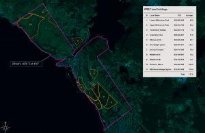 Initial PRSC landholdings, 2008
