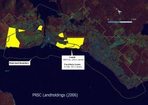 2006 PRSC landholdings