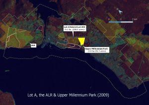2009 Lot A subdivision